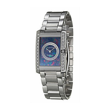 Concord Women's Delirium 18K White Gold Case and Bracelet Diamond Quartz Watch