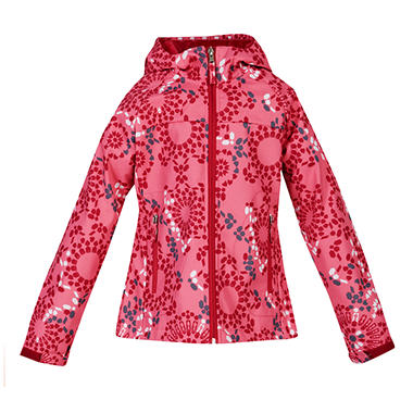 Girls Active Soft Shell Jacket - Pink
