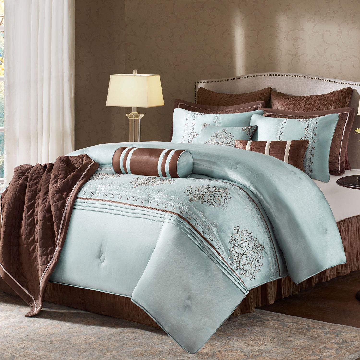bed designer satin wedding bedding at proddetail double embroidery rs set