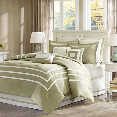 Addison 9-piece Comforter Set - King