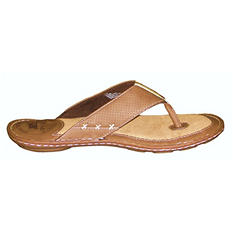 Margaritaville Mens' Leather Flip Flops (Assorted Colors)