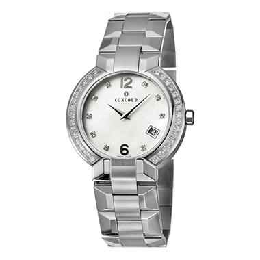 Concord La Scala Stainless Steel Men's Watch