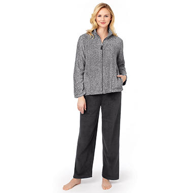 Stan Herman 2 pc. Plush PJ Set - Various Colors