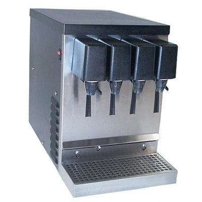 Willtec 4-Flavor Refrigerated Soda/Juice Dispenser