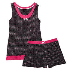 Kensie 2-Piece Tank & Boxer PJ Set (Assorted Colors)