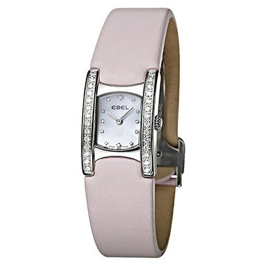 Ebel Beluga Manchette Steel Satin Women's Watch