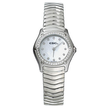 Ebel Classic Wave Stainless Steel Women's Watch