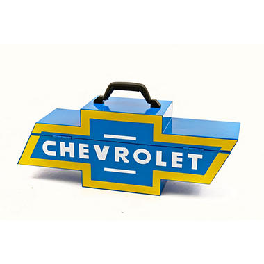 Chevrolet Logo Steel Tool Box