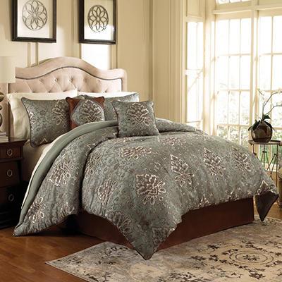 Parker 6-Piece Comforter Set - Various Sizes and Colors