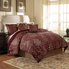 Parker 6-Piece Comforter Set - Various Sizes and Colors