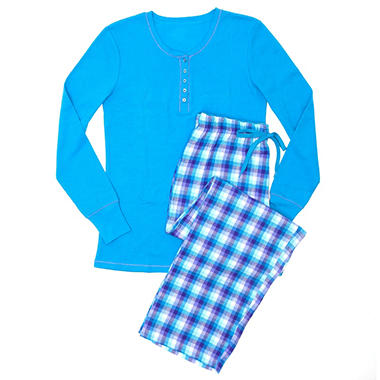 Thermal Knit PJ Set - Various Colors