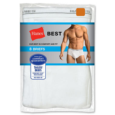Hanes Best 8-Pack Brief - Various Colors