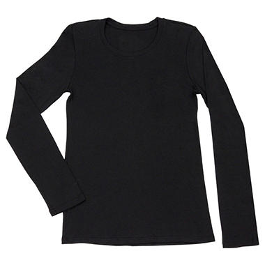 Long Sleeve Crew T-Shirt - Various Colors