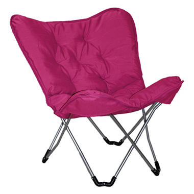 Sharper Image Plush Memory Foam Dorm Chair