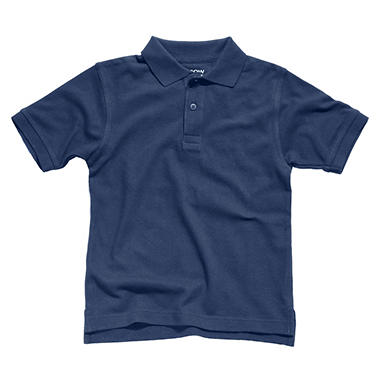 Boys School Uniform Short Sleeve Polo Shirt - Various Colors