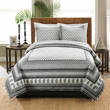 Laura Hart Quilt Set - King - 3 pc. - Select a Style