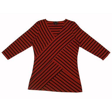 3/4 Sleeve Striped Top - Various Colors