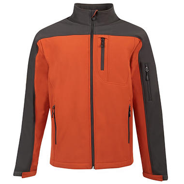 Men's Active Soft Shell Jacket - Various Colors