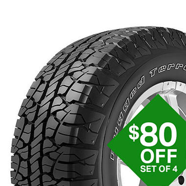 Bfgoodrich Rugged Terrain T A P275 55r20 111t Sam S Club