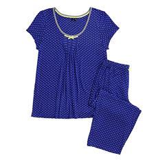 Kensie Short Sleeve Capri PJ Set (Assorted Styles)