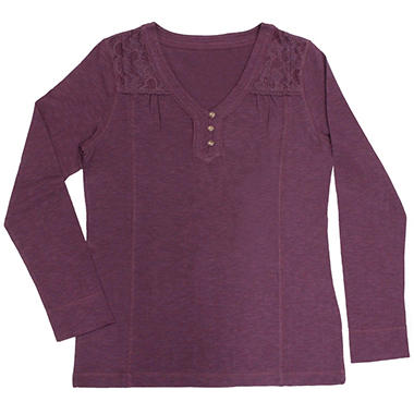 LC HENLEY PLUM XL IN-CLUB #255393