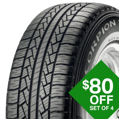 $80 Off 4 Pirelli Tires