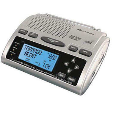 Midland Weather Alert Radio with AM/FM