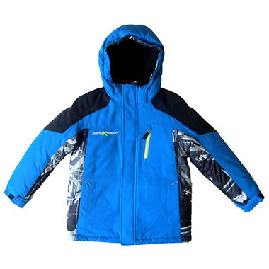 ZeroXposur Boys System Jacket - Iced Blue