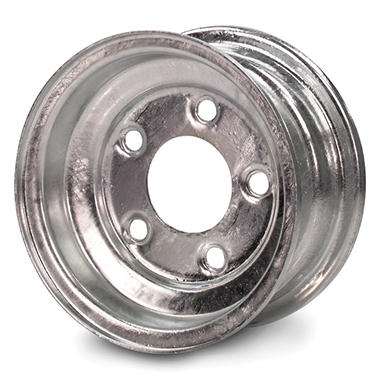 Greenball Stamped Steel Trailer Wheel - 8X7 - Galvanized