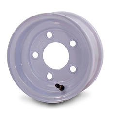 Greenball Stamped Steel Trailer Wheel - 8X7 - White