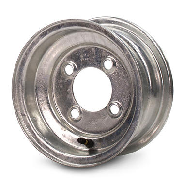 Greenball Stamped Steel Trailer Wheel - 10X6 - Galvanized