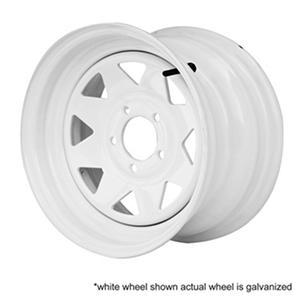 Greenball Spoke Steel Trailer Wheel - 12X4 - Galvanized