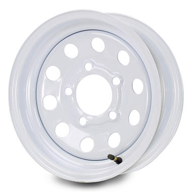 Greenball Modular Steel Trailer Wheel - 14X6 - White