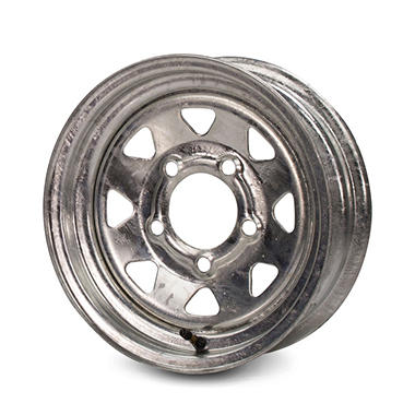 Greenball Spoke Steel Trailer Wheel - 15X5 - Galvanized