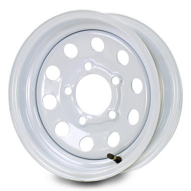 Greenball Modular Steel Trailer Wheel - 14X5.5 - White
