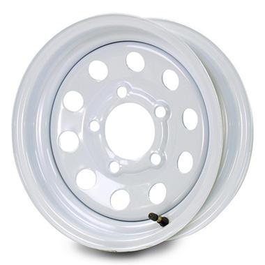 Greenball Modular Steel Trailer Wheel - 15X5 - White