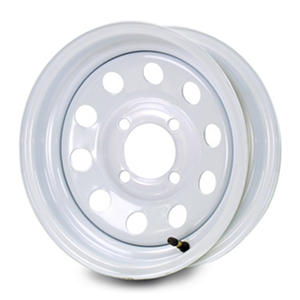 Greenball Modular Steel Trailer Wheel - White (Multiple Options)