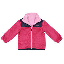 OshKosh Girls' Reversible Fleece Jacket (Assorted Colors)