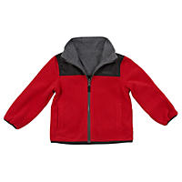 OshKosh Boys' Reversible Fleece Jacket (Assorted Colors)