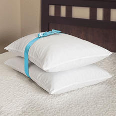"ComforZen Memory Foam Cluster Pillow - 24"" x 20"" (2 pack)"