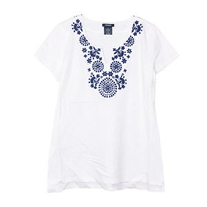 Premise Embroidered Top (Assorted Colors)