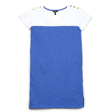 Ellen Tracy Slub T-Shirt Dress (Various Colors)
