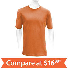 Men's Short-Sleeve Basic T-Shirt (Assorted Colors)