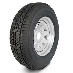 Greenball Transmaster Trailer Tire & Galvanized Spoke Wheel (Multiple Options)