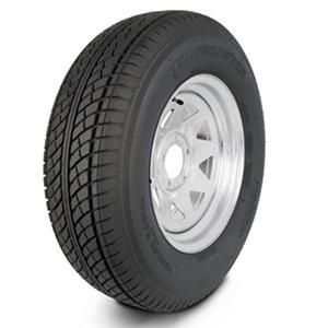 Greenball Transmaster Trailer Tire & Galvanized Spoke Wheel (Multiple Options)