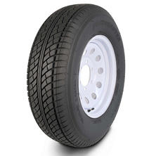 Greenball Transmaster Trailer Tire & White Modular Wheel (Multiple Options)
