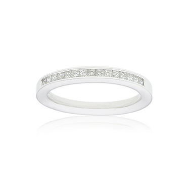 0.25 ct. t.w. Princess-Cut Diamond Band in 14K White Gold (H-I, I1)