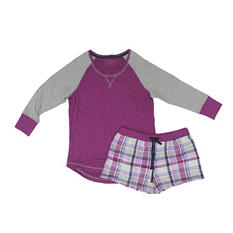 Ladies 2pc. PJ Short Set (Assorted Colors)