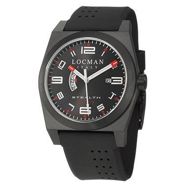 Locman Men's Sport Black Quartz Watch