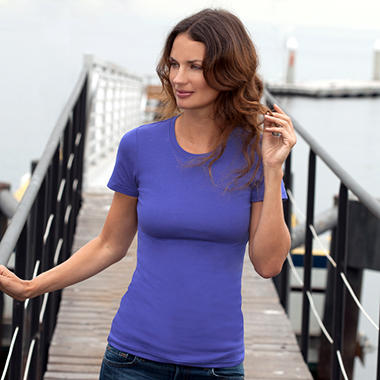 Short-Sleeve Crew Neck Shirt - Various Colors